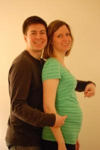Kristy & Bill at 24 Weeks