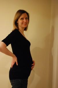 Kristy at 27 Weeks