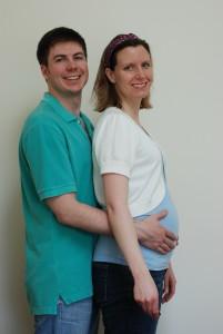 Kristy & Bill at 31 Weeks