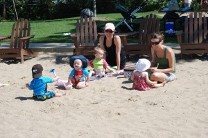 Playdate at the Beach