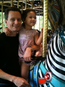 Mark and Leela at the Wild Animal Park