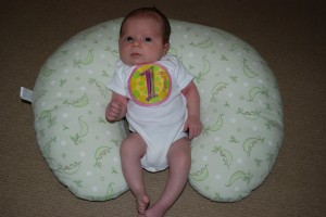 Robin at 1 Month