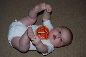 Robin at 4 Months