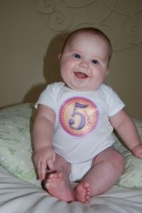 Robin at 5 Months